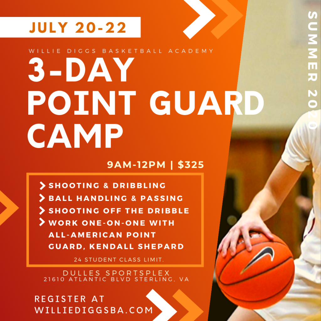 Point Guard Summer Basketball Camp Northern Virginia