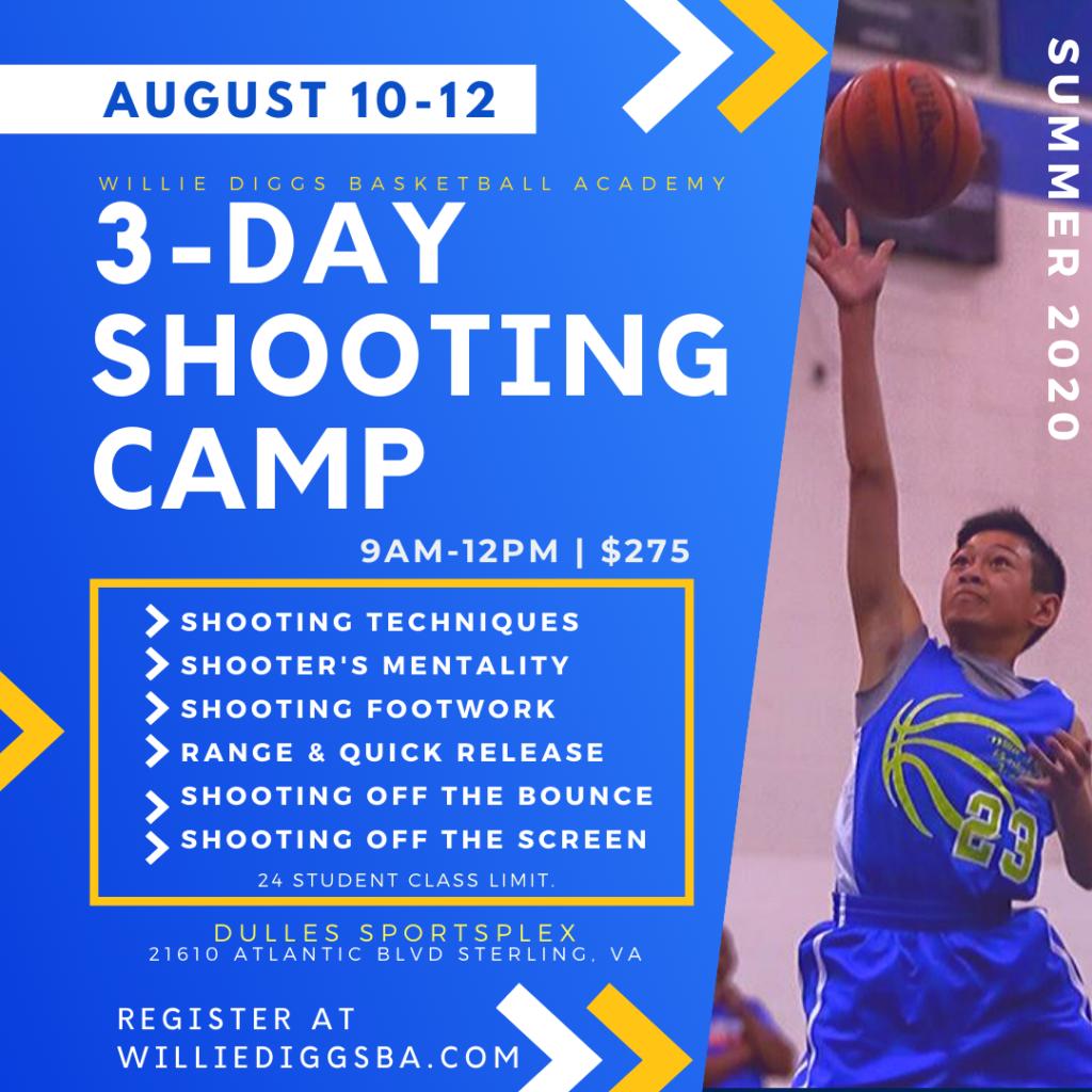 Shooting Summer Basketball Camp Northern Virginia