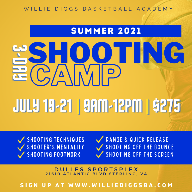 Shooting Summer Basketball Camp Northern Virginia