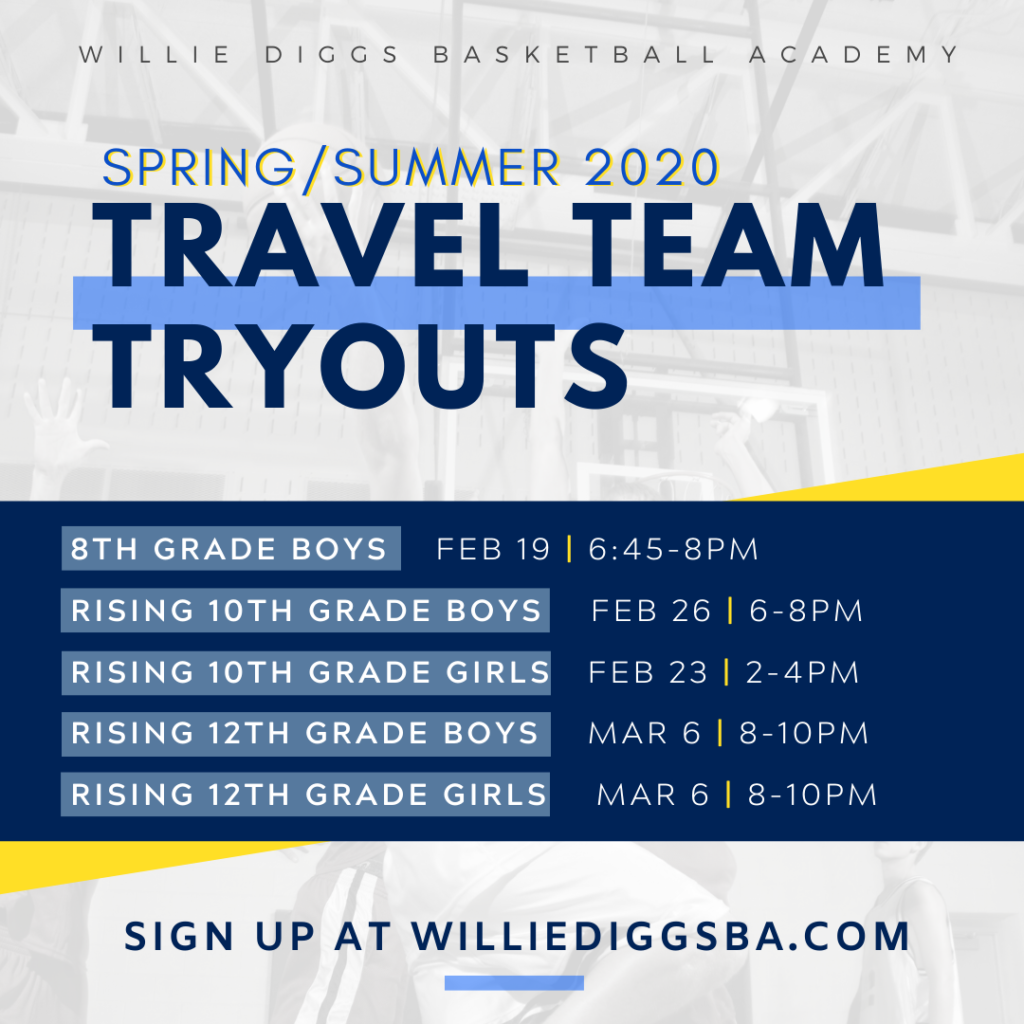 Basketball Travel Team Tryouts Northern Virginia