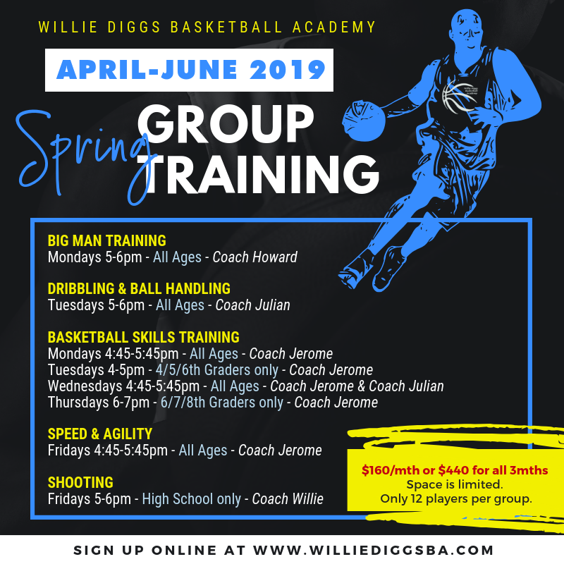 Northern Virginia Basketball Spring Summer Training