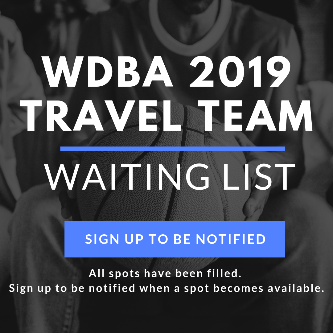 WDBA Travel Team Waiting List